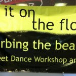 Put it on the floor Banner